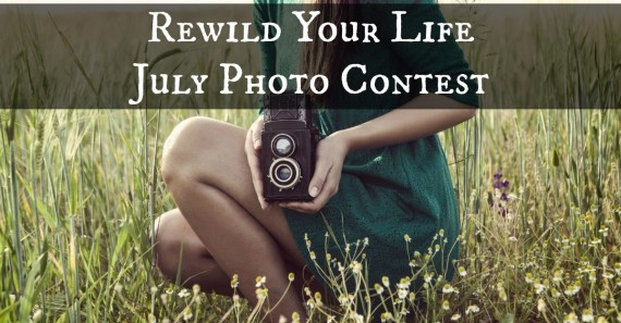Rewild Your Life 30 Day Challenge July Photo Contest
