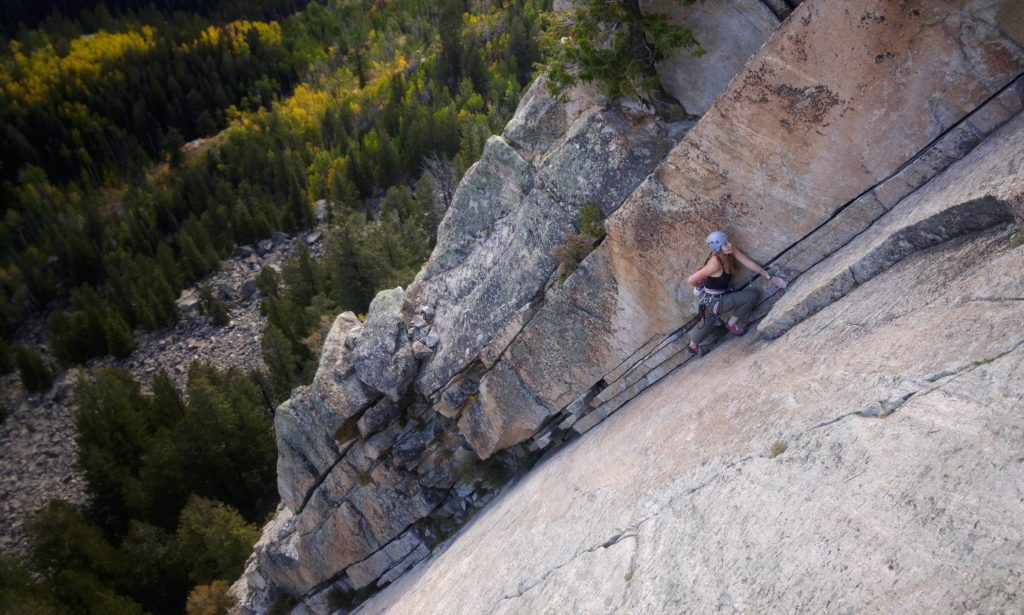 The Art of Holding On and Letting Go - we are wildness - silly_dai photo - rock climbing 3