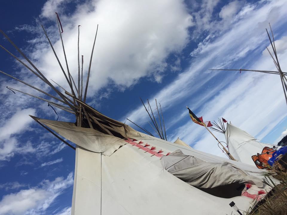 teepee: Sacred Stone Camp