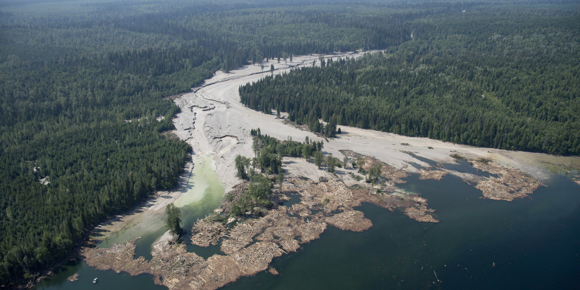 Mount Polley mine tailings breach: Another environmental disaster in BC