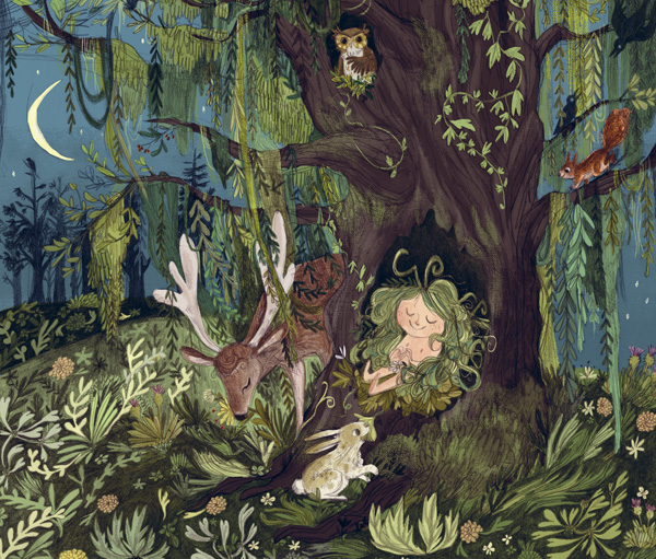 You cannot tame something so happily wild – Wild an Illustrated Children's Book