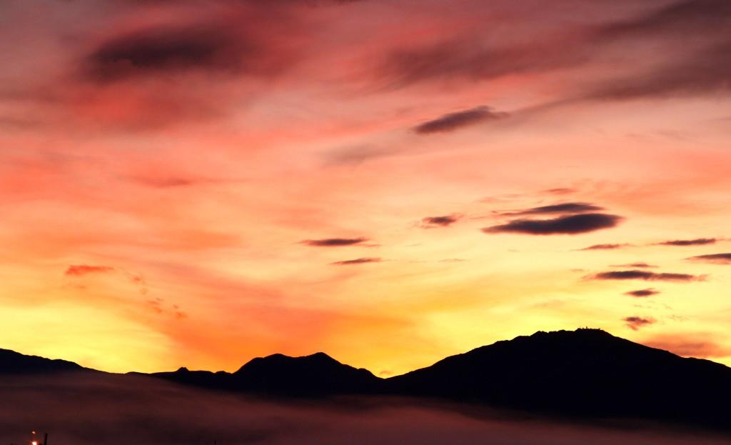 From Wild to Work - My Alaskan Commute We Are Wildness Blog Sunrise photo credit, flickr/CC Frank Kovalchek