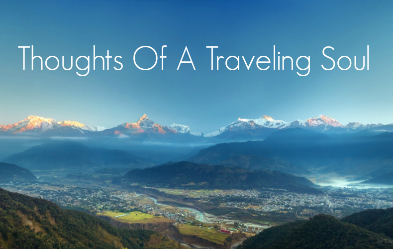 Thougths of a traveling soul | We Are Wildness Featured