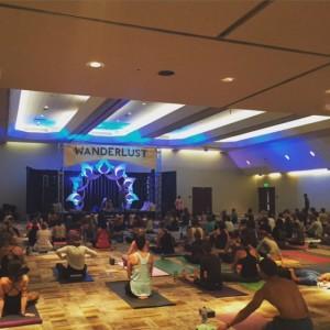 Yoga Tribe class with MC Yogi