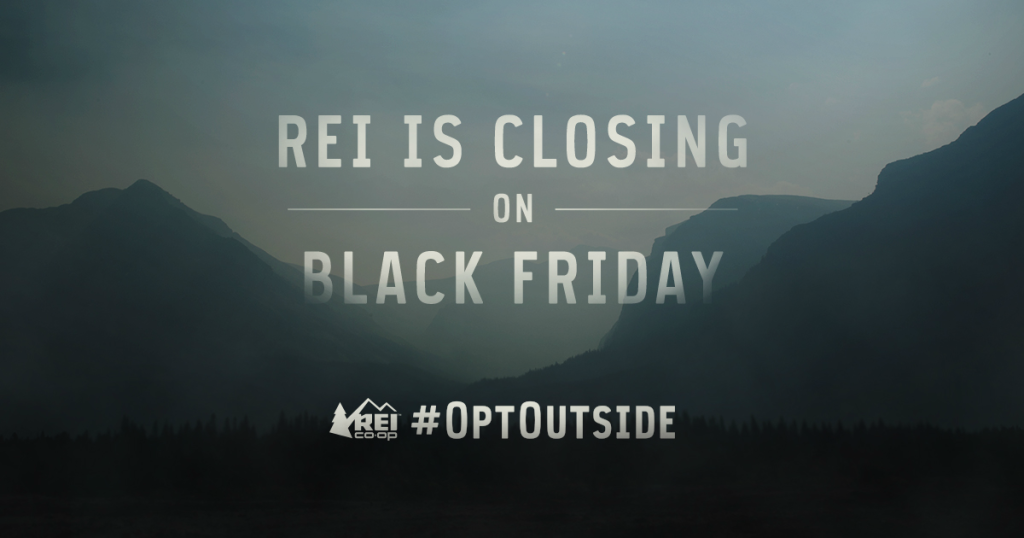 rei black friday optoutside we are wildness