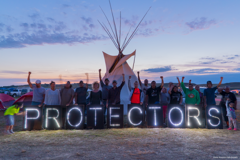 Indigenous Peoples Are Protecting the Land and Water from the Dakota Access Pipeline