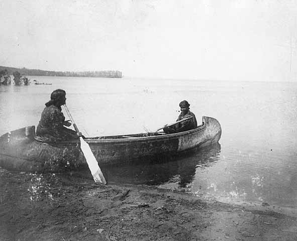 Ojibwe women in canoe on leech lake the canoe film we are wildness blog