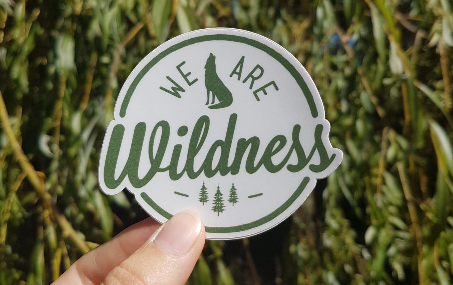 We Are Wildness Stickers